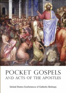 Pope Francis said tuning into Christ's word can be done in the spare moments of one's day by carrying a pocket Bible.