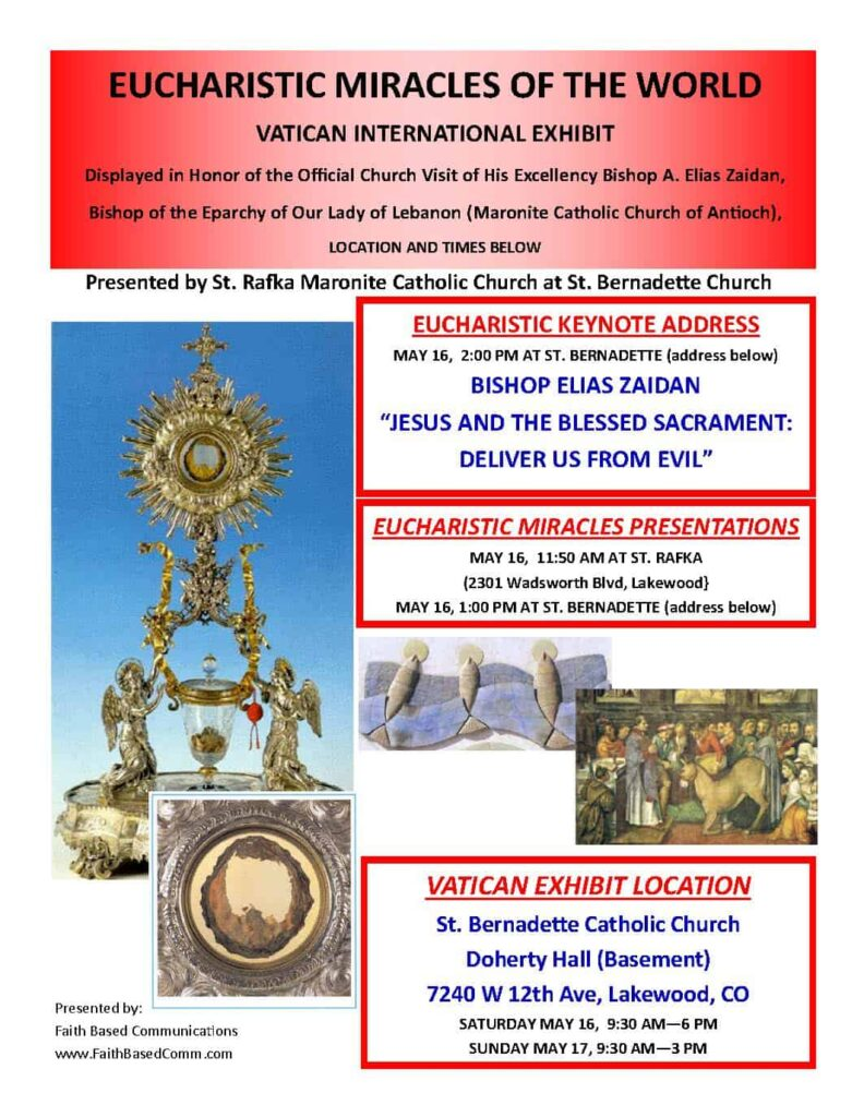 Eucharistic Miracles - splash page