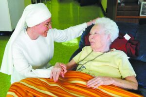 The Little Sisters care for the elderly poor.