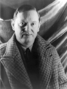 Evelyn Waugh, the author of Brideshead Rivested.