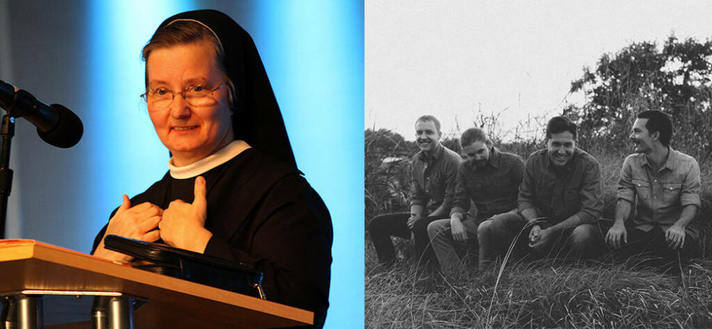 Sister Johanna Paruch, FSGM (left) and the Josh Blakesley Band (right) are among the special guest set to appear at Sealed & Sent. (Photos provided)