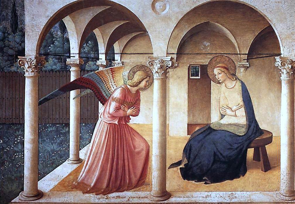 Annunciation art