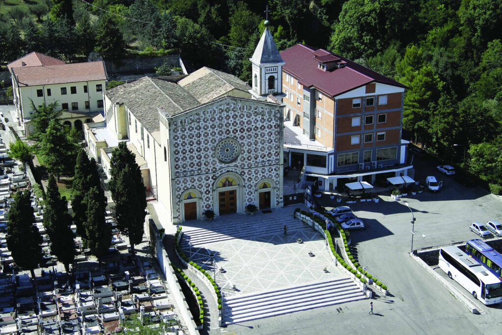 Archbishop Samuel J. Aquila and Monsignor J. Anthony McDaid will lead a pilgrimage to Italy from Sept. 16-26 as part of the Jubilee Year of Mercy. The pilgrimage will highlight lesser-known devotions and saints of mercy associated with Italy, including the church in Manoppello pictured here, which houses a sacred images of Jesus' face known as Veronica's Veil. (Stock Photo)