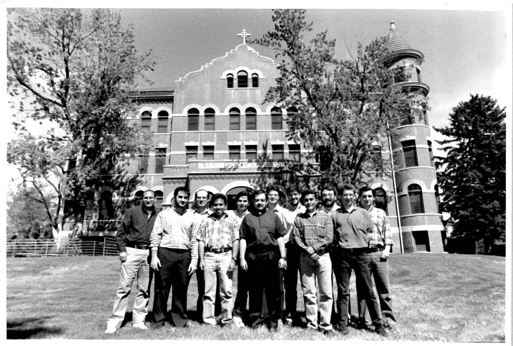 The first group of men to enter Redemptoris Mater Seminary in Denver arrived in 1996. (File photo)